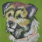 Портрет собаки.